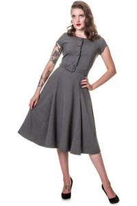 collectif gray dress